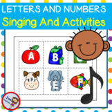 Alphabet and Number Games with Songs