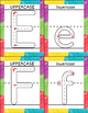 ALPHABET AND NUMBERS TRACING CARDS WITH CORRECT FORMATION