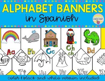 ALPHABET BANNERS in Spanish