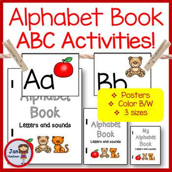 ALPHABET BINDER BOOK