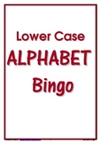 ALPHABET BINGO ~ Lower Case Letters