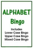 ALPHABET BINGO ~ Upper, Lower & Mixed Cases