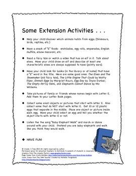 ALPHABET BOOK BUNDLE 2 for LETTERS E, F, G, H Activities