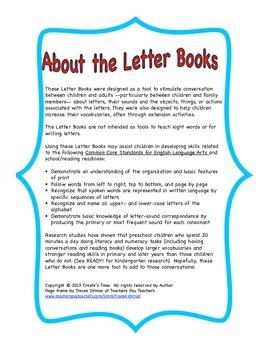 ALPHABET BOOK BUNDLE 3 for LETTERS I, J, K, L Activities