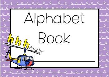ALPHABET BOOK KINDY Single Sounds