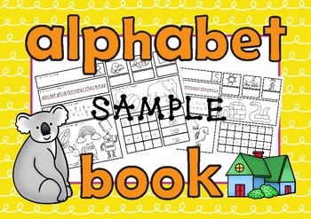 ALPHABET BOOK Single Sounds Sample
