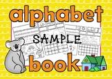 ALPHABET BOOK Single Sounds Sample