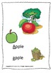 ALPHABET BOOK for LETTER A Letter-Sound-Object Recognition Activities