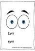 ALPHABET BOOK for LETTER E Letter-Sound-Object Recognition