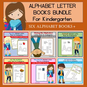 ALPHABET ABC BOOKS BUNDLE for KINDERGARTEN