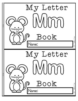 ALPHABET BOOKS (LETTER OF THE WEEK)