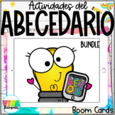 ALPHABET BOOM CARDS GROWING BUNDLE   (Spanish) Distance Learning