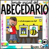 Abecedario | Alphabet Initial Sounds Boom Cards™ in Spanish