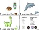 ALPHABET Booklets Letter Dd-Vocabulary-Sight Words-I can see Dd Words