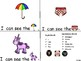 ALPHABET Booklets Letter Uu-Vocabulary-Sight Words-I can see Uu Words