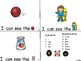 ALPHABET Booklets Letter Yy-Vocabulary-Sight Words-I can see Yy Words