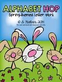 ALPHABET CENTERS: Alphabet Hop (Spring-themed Centers)