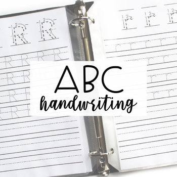 ALPHABET CENTERS: Handwriting
