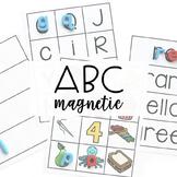 ALPHABET CENTERS: Magnetic Letters