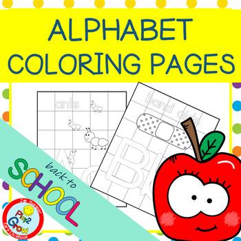 """Alphabet """"Kids Color"""" Posters"""
