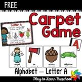 ALPHABET Carpet Game - Letter A