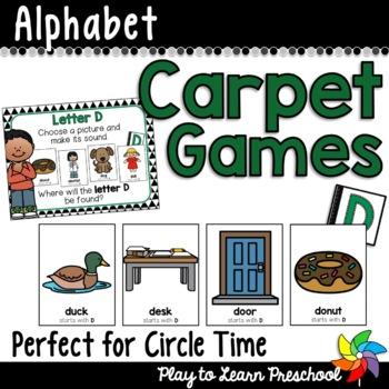 ALPHABET Carpet Games