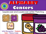 ALPHABET Center ~ PB & J (Matching, Letter Recognition or Assessing Tools!)