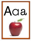 ALPHABET Classroom Display Cards