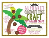 ALPHABET Coconut Tree Craft