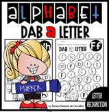 ALPHABET - DAB A LETTER -LETTER RECOGNITION