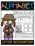 ALPHABET-DETECTIVES-LETTER RECOGNITION