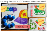 ALPHABET DO-A-DOT worksheets (LOWERCASE)
