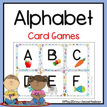ALPHABET FLASH, MEMORY AND MATCH CARDS