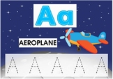 ALPHABET FLASHCARD A-F