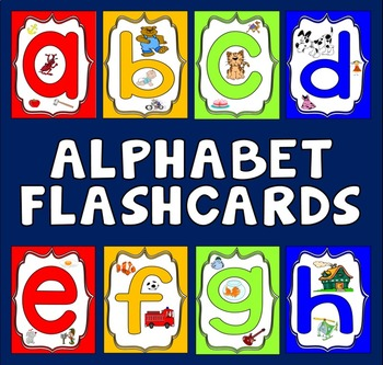 ALPHABET FLASHCARDS A4 PHONICS ENGLISH LITERACY SOUNDS POSTERS DISPLAY