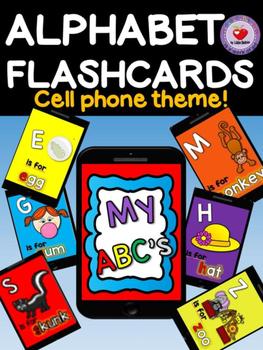 ALPHABET FLASHCARDS (Cell Theme)