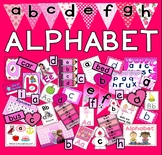 ALPHABET FLASHCARDS POSTERS WORKSHEETS ACTIVITIES -LETTERS PHONICS