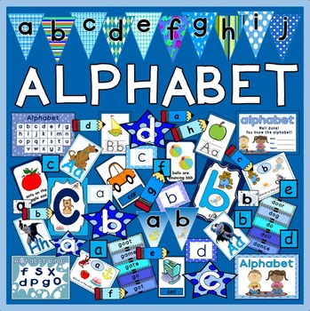 ALPHABET FLASHCARDS POSTERS WORKSHEETS LETTERS ABC ENGLISH