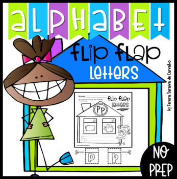 ALPHABET - FLIP-FLAP LETTERS - SINGLE LETTER PRACTICE