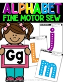 ALPHABET: Fine-Motor Sewing