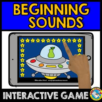 #twosunnydeals ALPHABET GAMES FOR KINDERGARTEN (BEGINNING SOUNDS GAME)