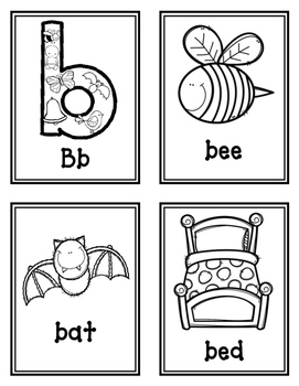 ALPHABET GRID GAMES for Preschoolers/Kindergarteners,  letters A-Z