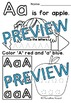 PRESCHOOL ALPHABET WORKSHEETS A-Z (KINDERGARTEN ALPHABET TRACING WORKSHEETS)