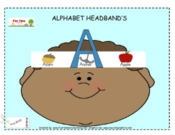 ALPHABET HEAD BANDS