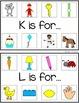 ALPHABET INITIAL SOUND CARDS {phonics in PreK and kindergarten}