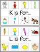 ALPHABET INITIAL SOUND CARDS {phonics in PreK and kindergarten}