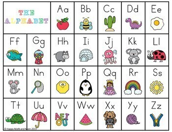 ALPHABET LETTER AND SOUND RECOGNITION PUZZLES