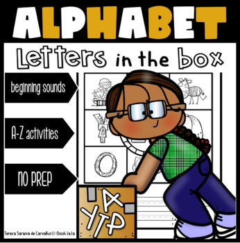 ALPHABET - LETTERS IN THE BOX