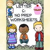 Alphabet Activities: Letter C (Alphabet Letter of the Week)