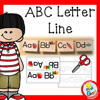 ALPHABET LETTER LINE